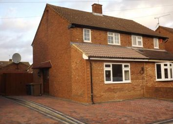 Thumbnail 2 bedroom semi-detached house for sale in Mossbank Avenue, Luton, Bedfordshire