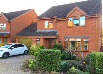 Thumbnail 4 bedroom detached house for sale in Aconbury Close, Worcester