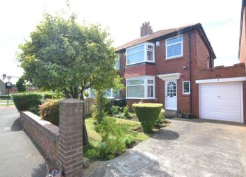 Thumbnail 3 bed semi-detached house for sale in Swaledale Gardens, High Heaton, Newcastle Upon Tyne