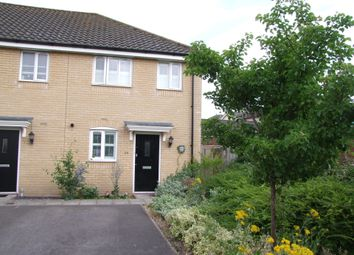 Thumbnail 2 bed end terrace house for sale in Heron Road, Saxmundham, Suffolk