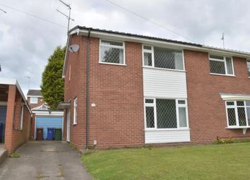 Thumbnail 3 bed semi-detached house for sale in Arden Close, Rugeley, Staffordshire