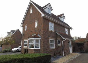 Thumbnail 4 bedroom detached house for sale in Tanners View, Ipswich, Suffolk
