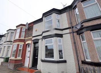 Thumbnail 2 bed terraced house for sale in Vittoria Street, Birkenhead