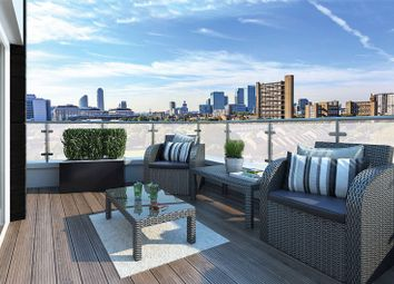 Thumbnail 2 bed flat for sale in Leven Wharf, Canning Town