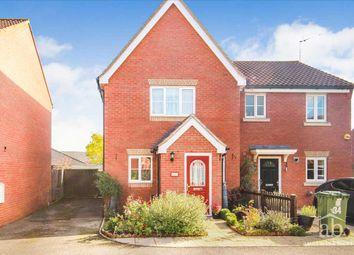 Thumbnail 3 bed semi-detached house for sale in Jennings Drift, Grange Farm, Kesgrave, Ipswich