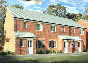 "Thumbnail 3 bed semi-detached house for sale in ""The Hanbury"" at Church Hill Terrace, Church Hill, Sherburn In Elmet, Leeds"
