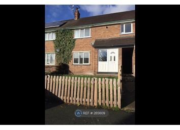 Thumbnail 3 bed terraced house to rent in Whalleys Way, Wrexham