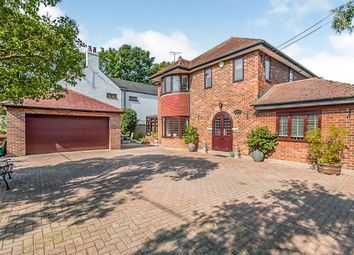 Thumbnail 5 bed detached house for sale in Rectory Road, Ruskington, Sleaford