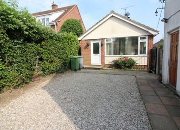 Thumbnail 2 bedroom detached bungalow for sale in The Green, Upton, Norwich
