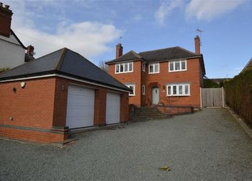 Thumbnail 5 bed detached house for sale in Station Road, Ratby, Leicester