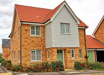 Thumbnail 4 bed link-detached house for sale in Markhams Close, Basildon, Essex
