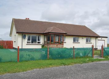Thumbnail 4 bed bungalow for sale in Eochar, Isle Of South Uist