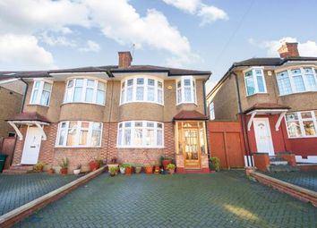 Thumbnail 3 bed semi-detached house for sale in Pymmes Green Road, Southgate, London