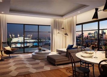 Thumbnail 3 bed flat for sale in Caledonia House, London City Island
