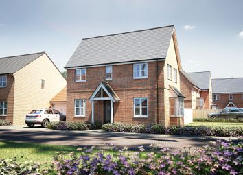 "Thumbnail 3 bed detached house for sale in ""The Staunton"" at Winchester Road, Boorley Green, Botley"