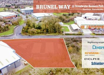 Thumbnail Commercial property for sale in Land At Brunel Way, Stroudwater Business Park, Stonehouse, Gloucestershire