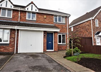 Thumbnail 3 bed semi-detached house for sale in Steele Road, Middlewich