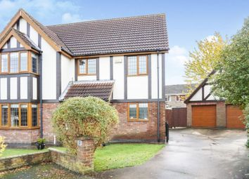 Thumbnail 4 bed detached house for sale in Hill Rise, Louth