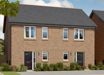 "Thumbnail 2 bed semi-detached house for sale in ""The Coleford"" at Berry Hill, Mansfield"
