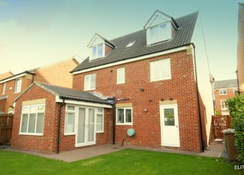 Thumbnail 6 bed detached house for sale in Harwood Drive, Fencehouses, Houghton Le Spring