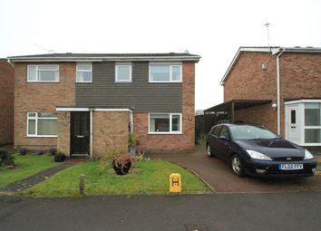 Thumbnail 3 bed semi-detached house to rent in Falcon Road, Anstey, Leicester