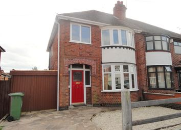 Thumbnail 3 bed semi-detached house to rent in Francis Avenue, Leicester