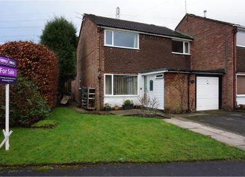 Thumbnail 4 bed semi-detached house for sale in Rugby Drive, Tytherington, Macclesfield