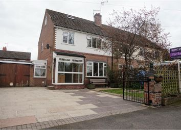 Thumbnail 3 bed semi-detached house for sale in London Road Terrace, Macclesfield