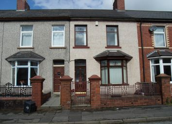 Thumbnail 3 bed terraced house to rent in Godfrey Road, Pontnewydd, Cwmbran