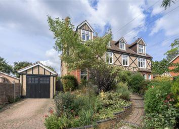 Thumbnail 6 bed semi-detached house for sale in Hollybush Lane, Harpenden, Hertfordshire