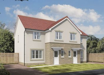 Thumbnail 3 bed semi-detached house for sale in Meikle Earnock Road, Hamilton