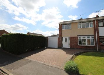 Thumbnail 3 bed semi-detached house for sale in Newton Leys, Burton-On-Trent