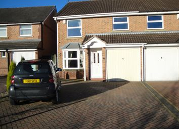 Thumbnail 3 bed semi-detached house to rent in Swinfen Broun, Mansfield
