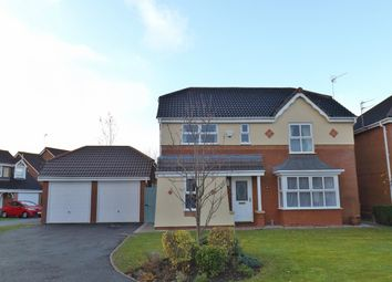 Thumbnail 4 bed detached house for sale in Barry Close, Ellesmere Port
