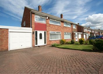 Thumbnail 3 bed semi-detached house for sale in Runswick Avenue, Middlesbrough
