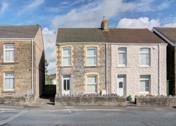 Thumbnail 3 bed semi-detached house for sale in Middle Road, Gendros, Swansea