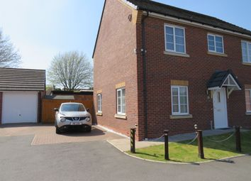 Thumbnail 2 bed flat for sale in Beard Close, Wednesbury