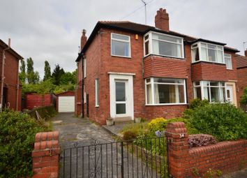 Thumbnail 3 bed semi-detached house for sale in Manston Way, Leeds, West Yorkshire