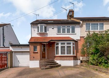 Thumbnail 5 bedroom semi-detached house for sale in Belmont Avenue, London