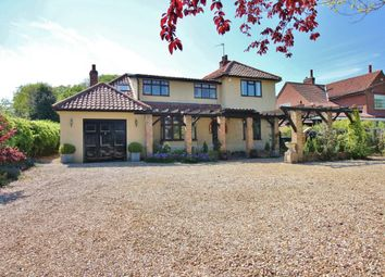 Thumbnail 4 bedroom detached house for sale in Mill Road, Horstead, Norwich
