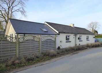 Thumbnail 3 bed detached bungalow for sale in Cilcennin, Lampeter, Ceredigion