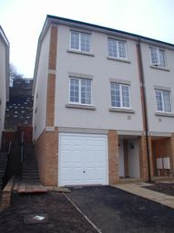 Thumbnail 3 bed terraced house to rent in Enbrook Valley, Folkestone