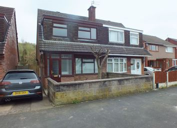 Thumbnail 3 bedroom semi-detached house for sale in Catharine Road, Chell Heath, Stoke-On-Trent