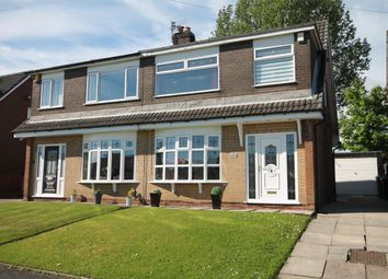 Thumbnail 3 bed semi-detached house for sale in Lichfield Close, Farnworth, Bolton