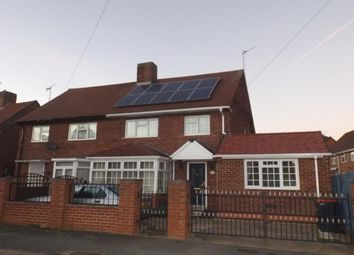Thumbnail 4 bed semi-detached house to rent in Laughton Crescent, Hucknall, Nottingham