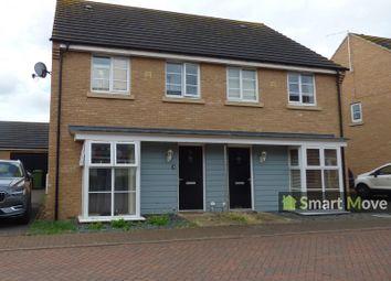 Thumbnail 3 bedroom semi-detached house to rent in Stonewort Avenue, Hampton Vale, Peterborough, Cambridgeshire.