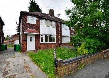 Thumbnail 3 bed semi-detached house to rent in Riverton Road, Didsbury, Manchester, Greater Manchester