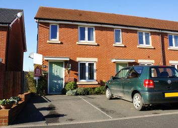 Thumbnail 3 bedroom end terrace house for sale in Henrys Run, Cranbrook, Exeter