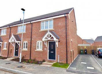 Thumbnail 2 bed end terrace house to rent in Gresley Way, Copcut, Droitwich