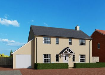 Thumbnail 4 bed detached house for sale in Meadow Haze, Broadway, Woodbury, Devon